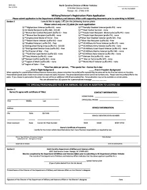 2015-2017 Form NC MVR-33A Fill Online, Printable, Fillable, Blank ...