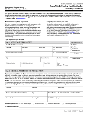 2015 Form USCIS N-648 Fill Online, Printable, Fillable, Blank ...