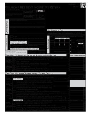 2014-2017 Form OK Form 511 Fill Online, Printable, Fillable, Blank ...