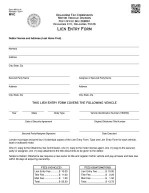 2014-2017 Form OK MV-21-A Fill Online, Printable, Fillable, Blank ...