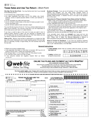 2015 Form TX Comptroller 01-117 Fill Online, Printable, Fillable ...