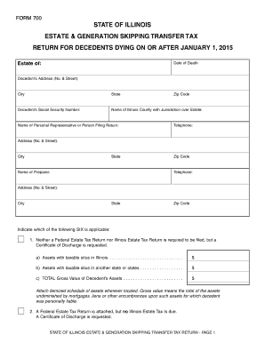 2015-2017 Form IL 700 Fill Online, Printable, Fillable, Blank ...