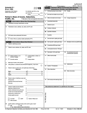 form 1065 k-1  1111 Form IRS 1111 - Schedule K-11 Fill Online, Printable ...