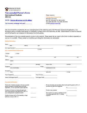 Masshealth Non Custodial Parent Form - Fill Online, Printable ...
