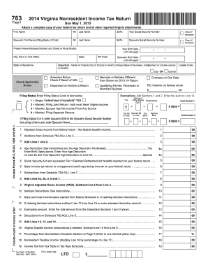 2014-2017 Form VA DoT 763 Fill Online, Printable, Fillable, Blank ...