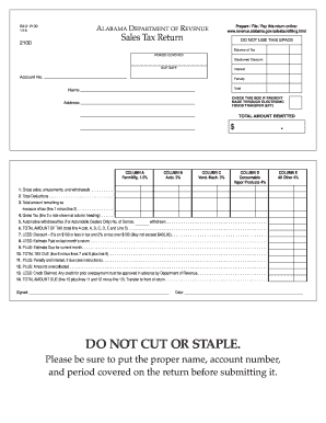 2016 Form AL ADoR 2100 Fill Online, Printable, Fillable, Blank ...