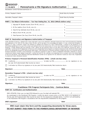 2015-2017 Form PA PA-8879 Fill Online, Printable, Fillable, Blank ...