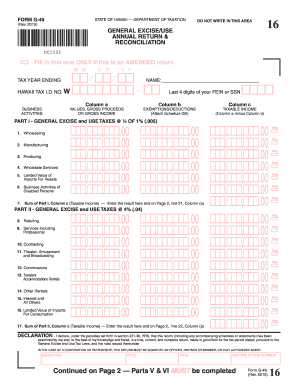1099 form hawaii  Bill Of Sale Form Hawaii Form Hw-16 From Templates - Fillable ...