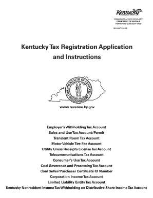 2016 Form KY DoR 10A100 Fill Online, Printable, Fillable, Blank ...