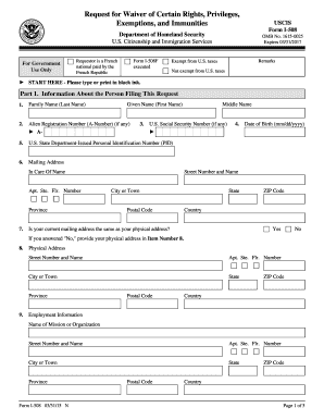 2015-2017 Form USCIS I-508 Fill Online, Printable, Fillable, Blank ...