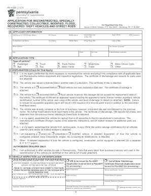 2016 Form PA MV-426B Fill Online, Printable, Fillable, Blank ...