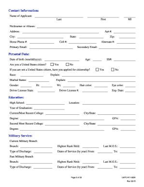 2014 Form KY LMPD 11-0024 Fill Online, Printable, Fillable