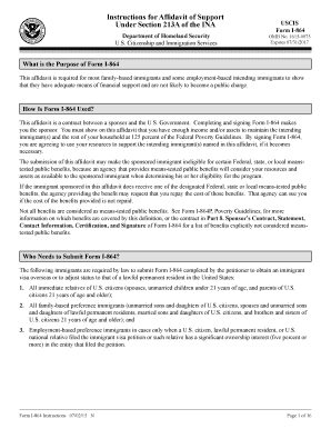 form i-864p Templates - Fillable & Printable Samples for PDF, Word on