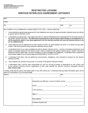 Dr2058 fill online printable fillable blank pdffiller for Non ownership of motor vehicle affidavit
