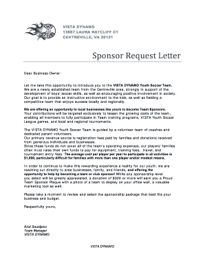 Sponsor request letter fieldstation sponsor request letter altavistaventures Gallery