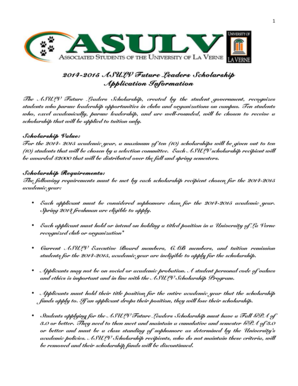 ASULV-Future-Leader-Scholarship-Application-2014-2015.docx