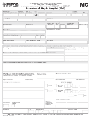 Fillable Online hpsm Medi-Cal TAR (18-1) Fax Email Print - PDFfiller