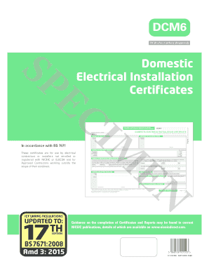 earthing test certificate format - Forms & Document