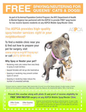 aspca queens - Fill, Print & Download Online Samples & Templates