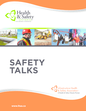safety and health manual pdf