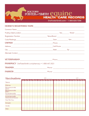 graphic about Printable Records known as Equine Documents - Fill On the web, Printable, Fillable, Blank
