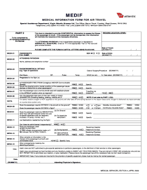 Medical information form for air travel fill online printable medical information form for air travel thecheapjerseys Choice Image