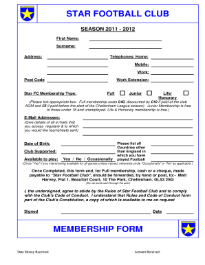 100 Club Application Form Template Registration Form 9 . Recent Posts  Club Membership Form Template Word