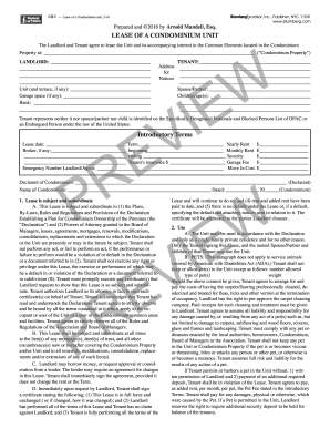 blumberg form lease 2014-2017