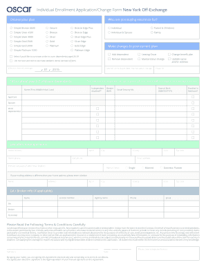 Simple Purchase Order Form. Individual Enrollment Application/Change Form  1HZ.