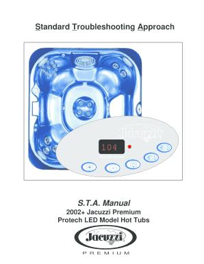 Jacuzzi Premium Manuals