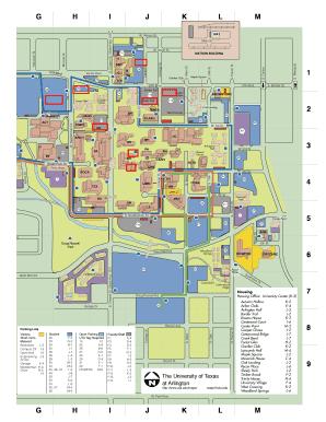 Campus Map Utep.Uta Campus Map Download