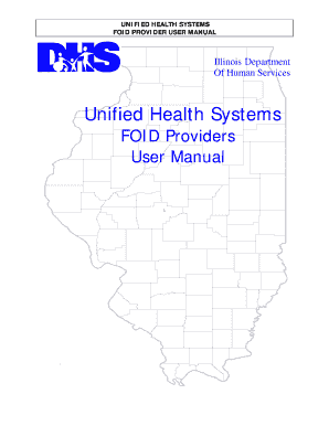 image relating to Printable Foid Card Application called UHS FOID Service Consumer Manualdocx Template dapplication de