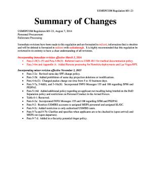 Fillable Online mepcom army USMEPCOM Regulation 601-23 Fax Email ...
