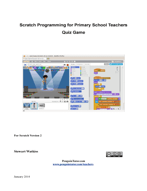 fillable online scratch programming for primary school teachers quiz