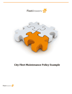 012065522 the policy discusses the following elements involved in city fleet maintenance management3 1 maintenance standards daily