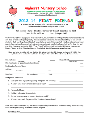 2017 14 First Friends Amherst Nursery School Amherstnurseryschool