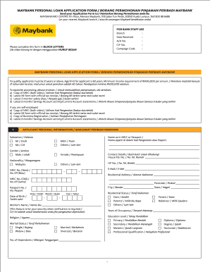 personal credit application form templates fillable printable
