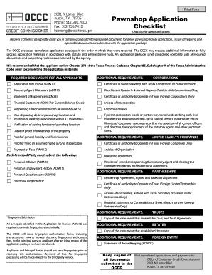 Editable software license agreement checklist fill out best pawnshop application checklist platinumwayz