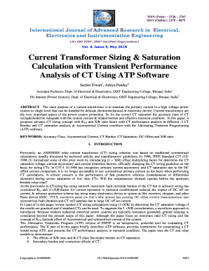 Fillable transformer sizing calculation pdf Forms and Templates to