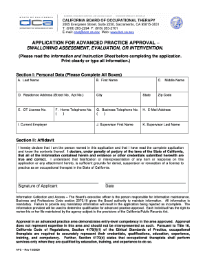 Advance Directive Form California