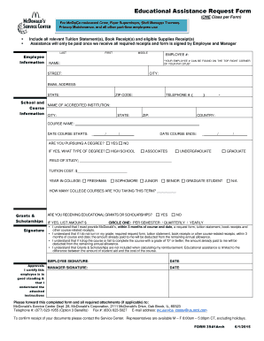Mcdonalds Application Form Templates - Fillable & Printable ...