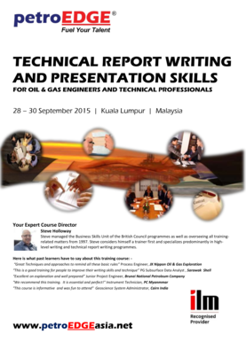 TECHNICAL REPORT WRITING AND PRESENTATION SKILLS
