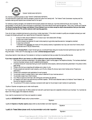 Service Agreement - Rental Housing Alliance Oregon