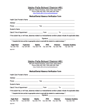Idaho School District 91 - Fill Online, Printable, Fillable, Blank ...