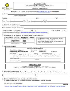 DCI Honor Corps Booking Form 4.doc