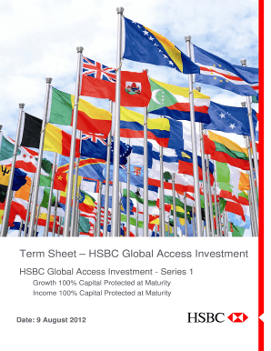 HSBC Global Access Investment - Series 1 Term Sheet v5.1.DOCX