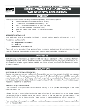new york star application 2016 form
