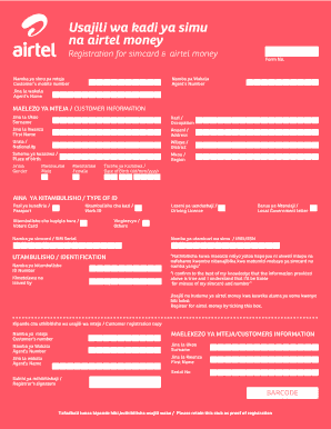 Vodacom Ekyc - Fill Online, Printable, Fillable, Blank