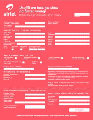 Vodacom Ekyc - Fill Online, Printable, Fillable, Blank | PDFfiller