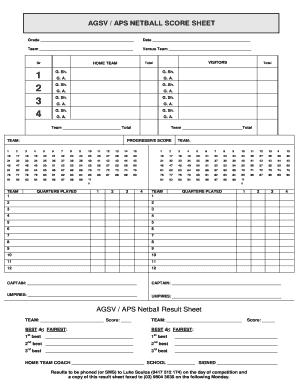 mcmi iii scoring template - netball score sheetdoc fill online printable fillable
